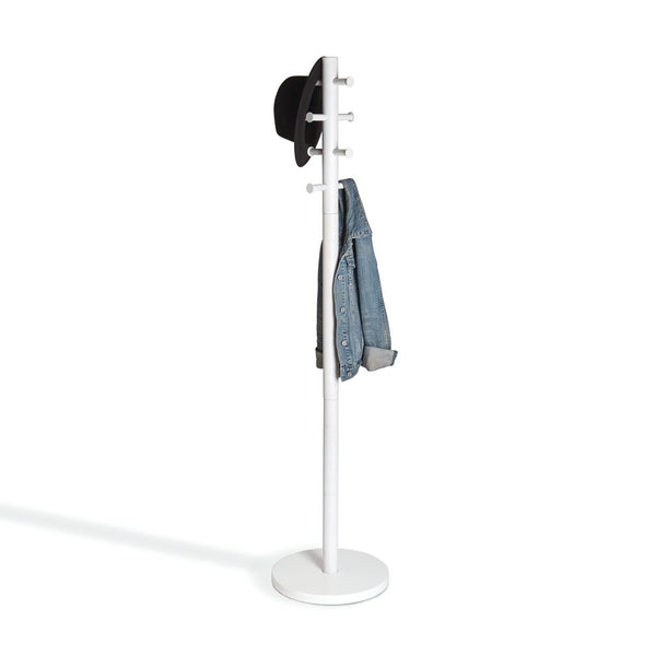 Umbra | Pillar Coat Rack White