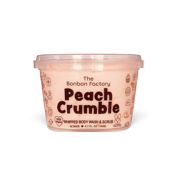 PEACH CRUMBLE BODY WASH WHIP