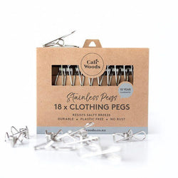 Caliwoods | Stainless Steel Clothes Pegs