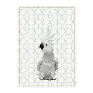 Tea towel Cockatoo
