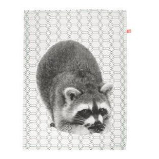 "Tea Towel ""Racoon"""
