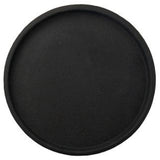 Round Concrete Tray - Medium Black