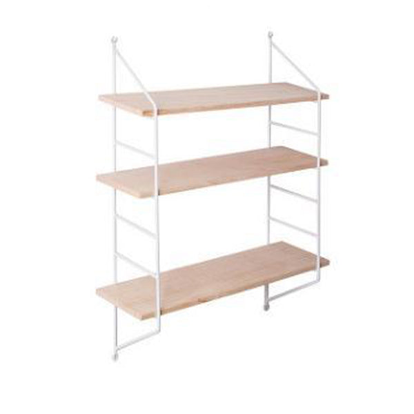 Modular Shelving - Black / White - 3 Shelves - PREORDER
