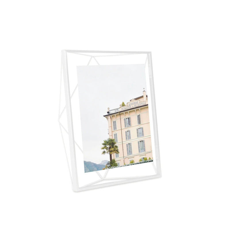 UMBRA | PRISMA PHOTO FRAME 8 X 10 White