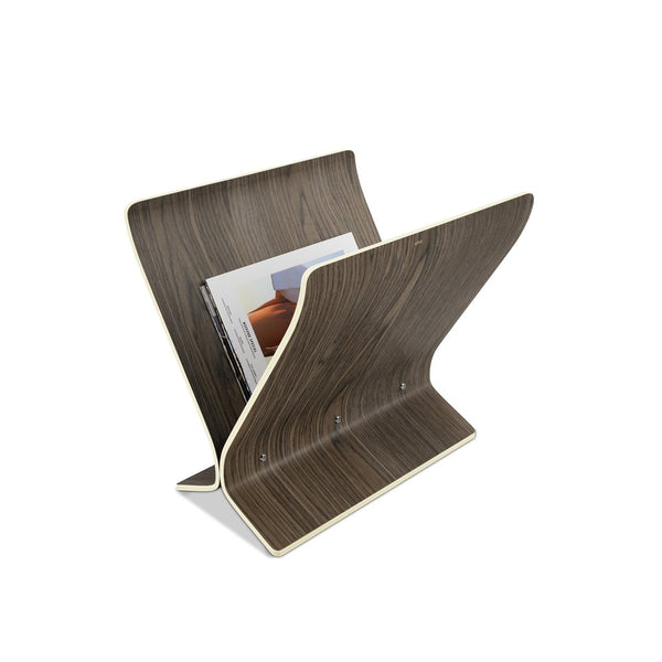 UMBRA | Arling Magazine Rack - Aged Walnut