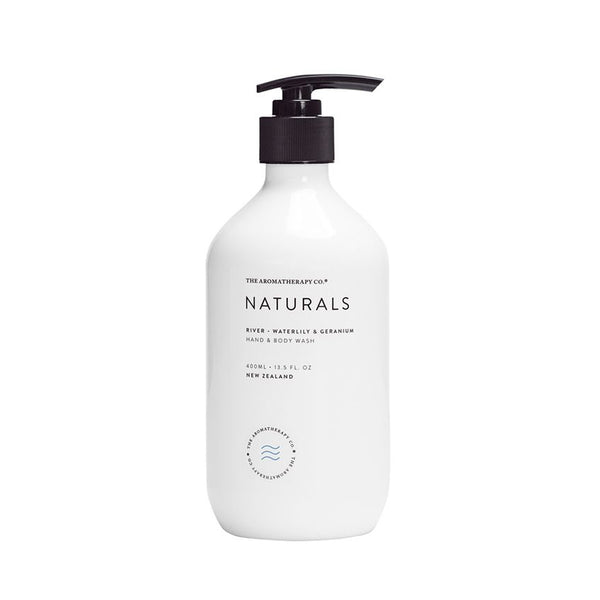 Naturals Hand & Body Wash River - Waterlily & Geranium