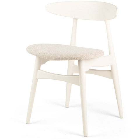White Pad Dining Chair