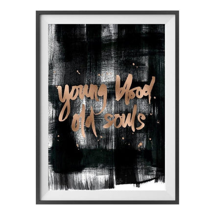 Young Blood Copper Foil Print