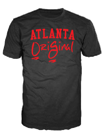 OriGinal Short Sleeve Blk/Red print