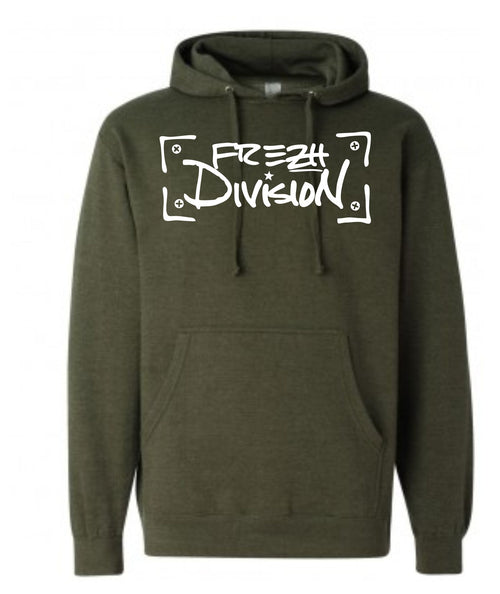 Frezh Division Olive Hoodie