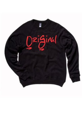 College Park OriGinal Hoodie Blk/Red print
