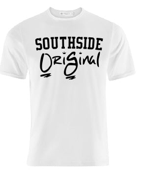 OriGinal WHITE /BLACK  SHIRT  - NORTHSIDE - EASTSIDE- WESTSIDE - SOUTHSIDE