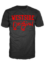 OriGinal BLACK/RED SHIRT  - NORTHSIDE - EASTSIDE- WESTSIDE - SOUTHSIDE