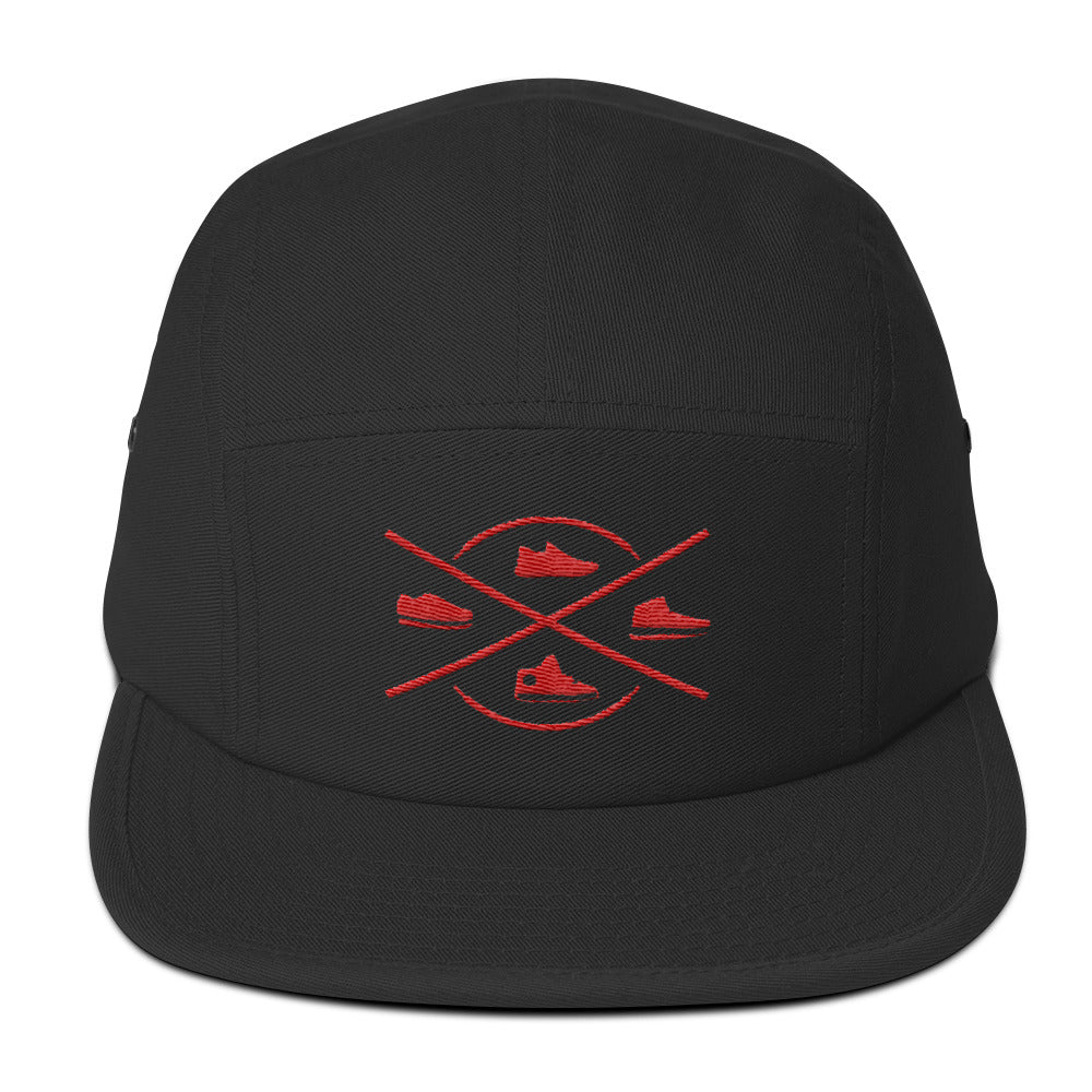 SNEAKER CONNOISSEUR CAP V2 BLACK/RED