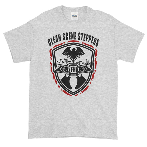 Grey Short-Sleeve TWARD x Frezh Division Collab: Clean Scene Steppers!!!