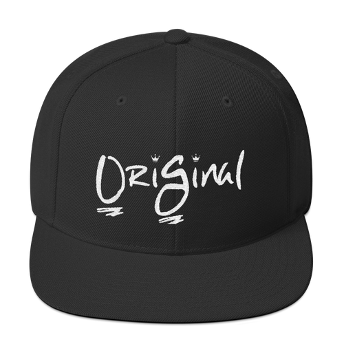 OriGinal Snapback Black/White.