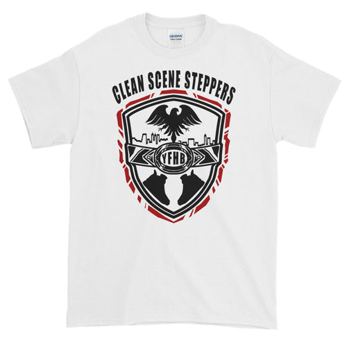 White Short-Sleeve TWARD x Frezh Division Collab: Clean Scene Steppers!!!