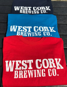West Cork Brewing Company T- Shirt - Blue