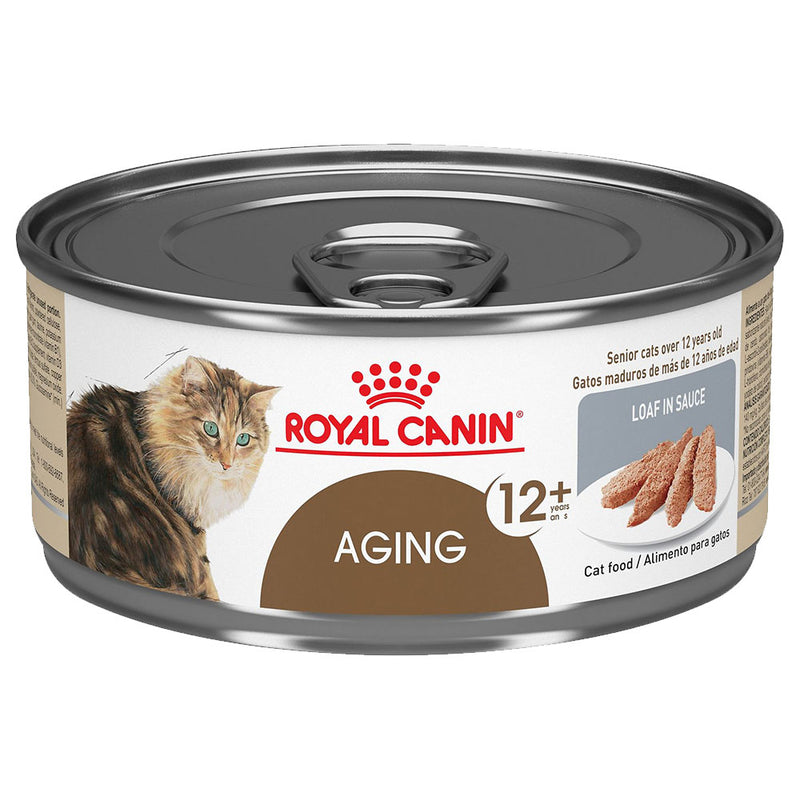 Royal Canin Aging 12+ Loaf In Sauce Canned Cat Food (5.8-oz, case of 24)