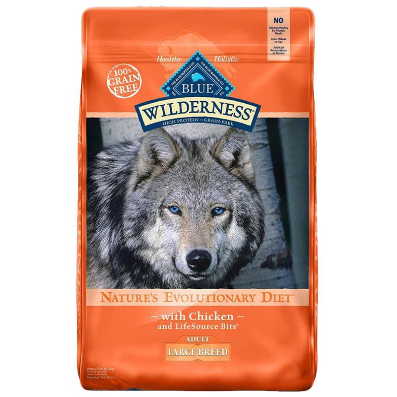 Blue Buffalo Wilderness Adult Large Breed Chicken Recipe Grain-Free Dry Dog Food