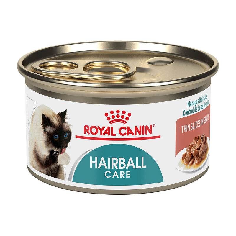 Royal Canin Hairball Care Thin Slices in Gravy Canned Cat Food (3-oz, case of 24)