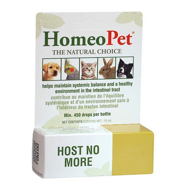 HomeoPet Host No More De-wormer for Pets (450-drops)
