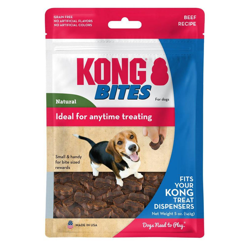 KONG Bites Beef Dog Treats (5-oz pouch)