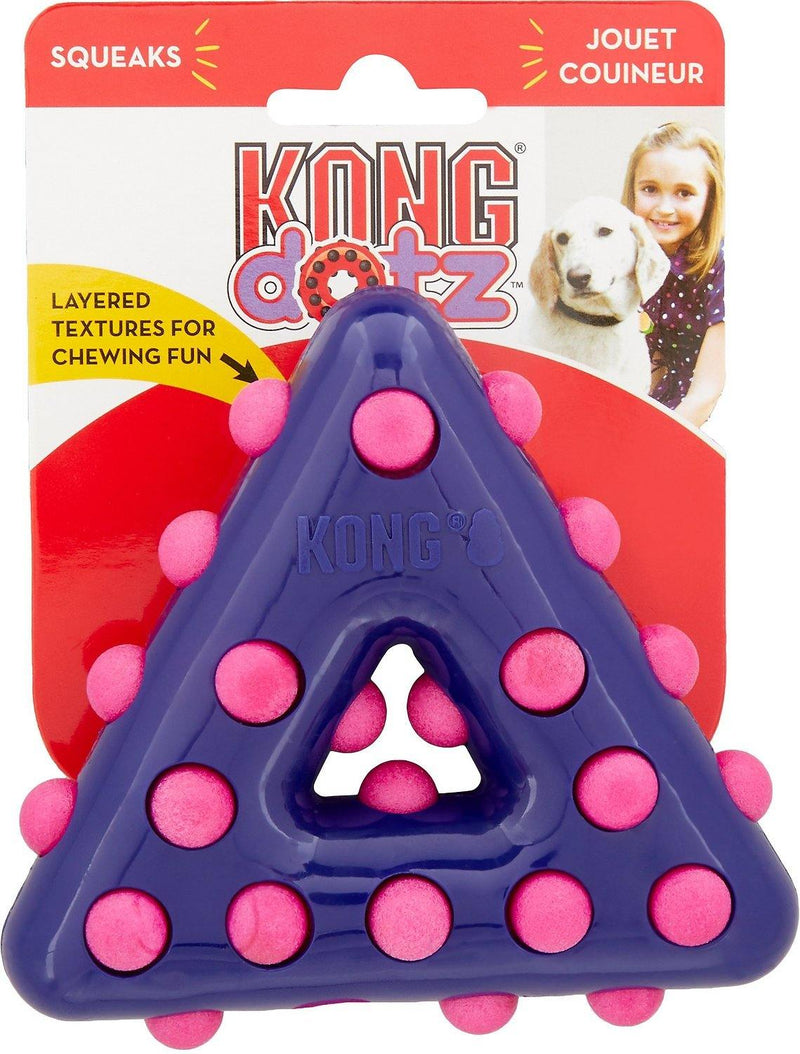 KONG Dotz Triangle Dog Toy - Petanada