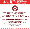 Lazy Kitty Duck Recipe Air-Dried Grain-Free Cat Treats (85-g bag)