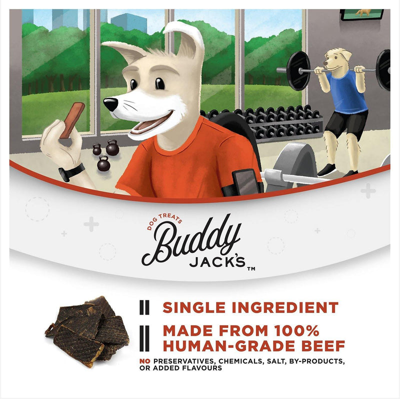 Buddy Jack's Air-Dried Beef Jerky Dog Treats
