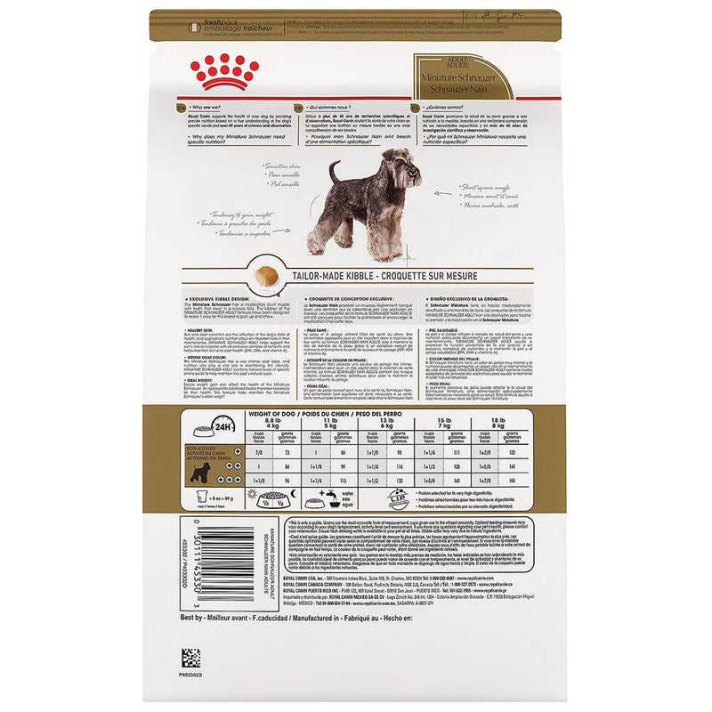 Royal Canin Miniature Schnauzer Adult Dry Dog Food