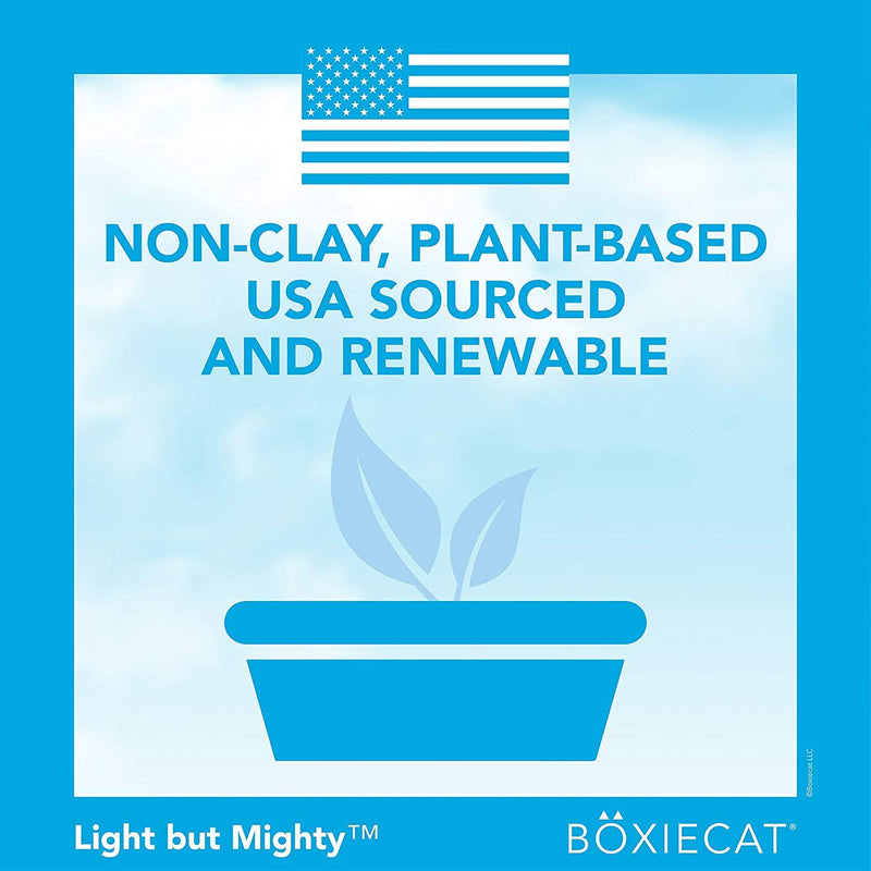 Boxiecat Air Lightweight Scent Free Premium Clumping Cat Litter