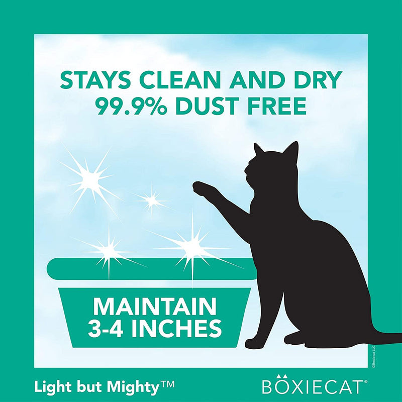Boxiecat Air Lightweight Gently Scented Premium Clumping Litter