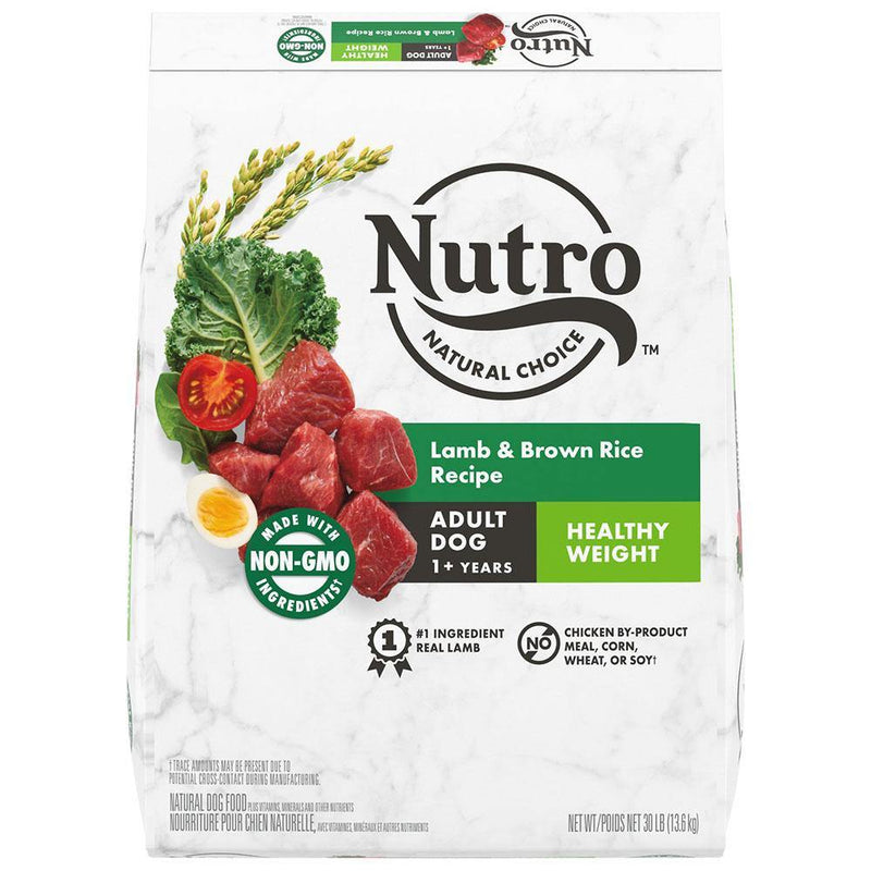 Nutro Natural Choice Healthy Weight Lamb & Brown Rice Recipe Adult Dry Dog Food