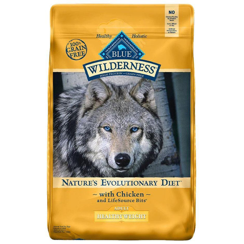 Blue Buffalo Wilderness Healthy Weight Chicken Recipe Grain-Free Dry Dog Food