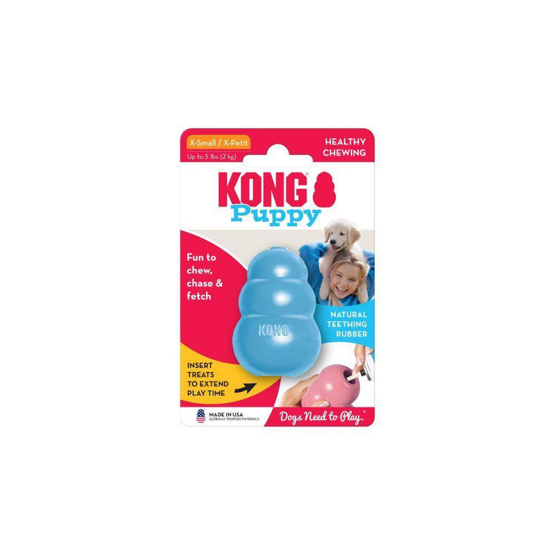 KONG Puppy Dog Toy, Color Varies, X-Small - Petanada