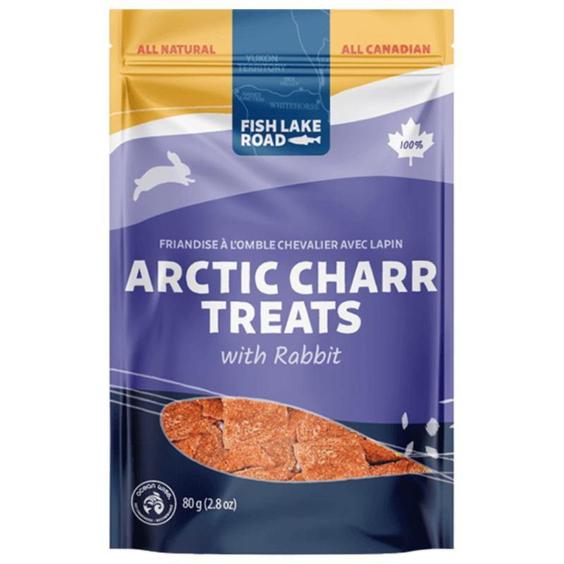 Fish Lake Road Arctic Charr with Rabbit All Natural Dehydrated Dog Treats (2.8-oz bag)