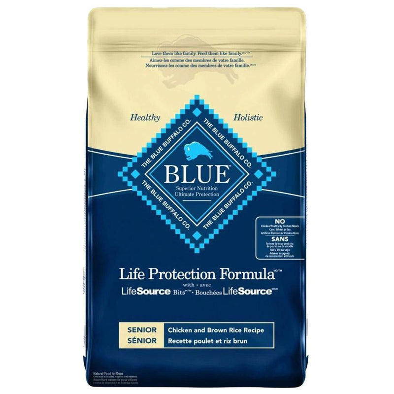 Blue Buffalo Life Protection Formula Senior Chicken & Brown Rice Recipe Dry Dog Food