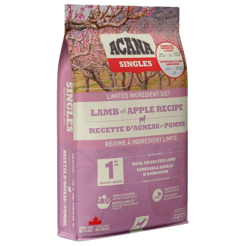 ACANA Singles Limited Ingredient Diet Lamb with Apple Recipe Grain-Free Dry Dog Food (12 lb)