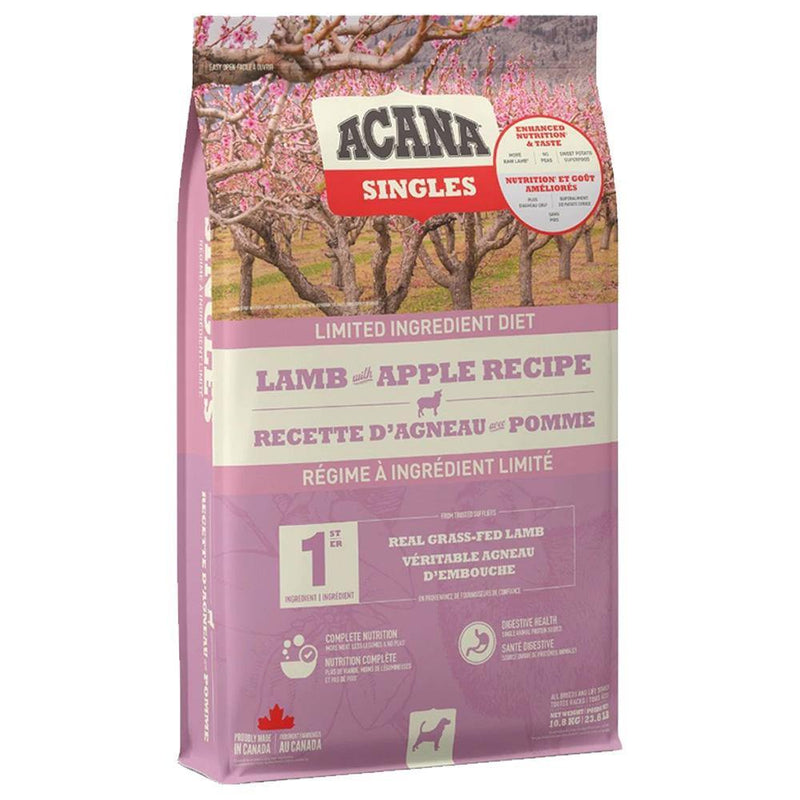 ACANA Singles Limited Ingredient Diet Lamb with Apple Recipe Grain-Free Dry Dog Food (24 lb)