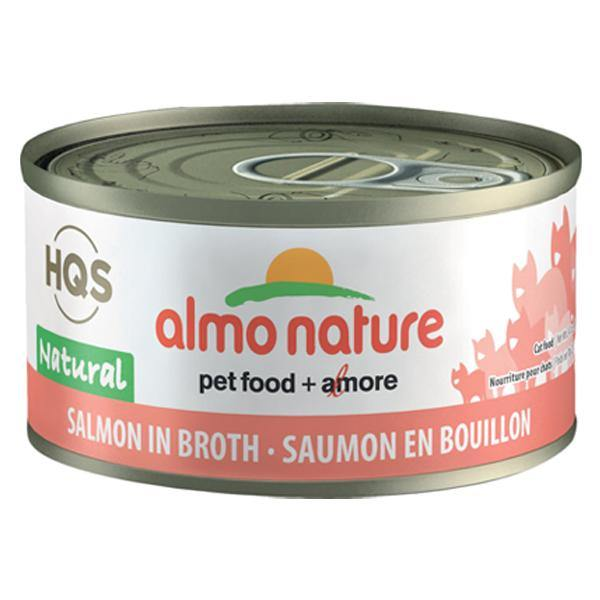 Almo Nature HQS Salmon in broth