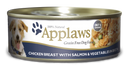 Applaws Chicken Breast with Salmon & Vegetables Canned Dog Food 5.5-oz can