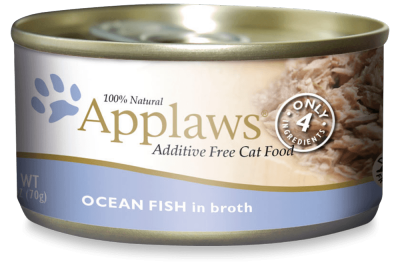 Applaws Ocean Fish In Broth 2.47oz