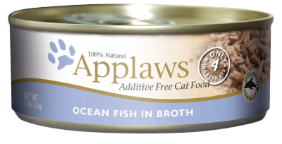 Applaws Ocean Fish in Broth Canned Cat Food