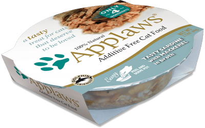 Applaws Sardine with Mackerel Cat Food Pot 60g