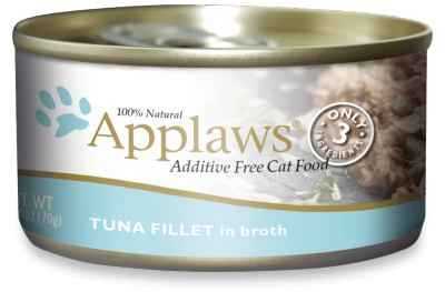 Applaws Tuna Fillet in Broth 2.47-oz