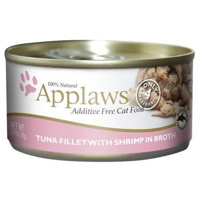 Applaws Tuna Fillet with Shrimp 2.47oz
