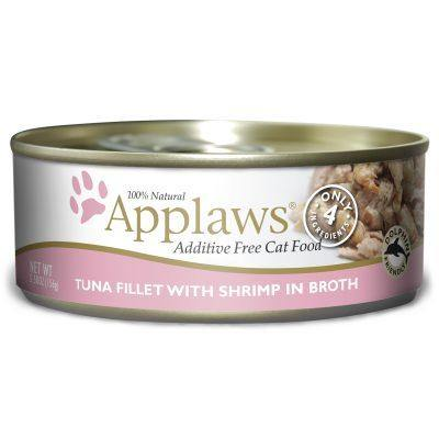 Applaws Tuna Fillet with Shrimp in Broth Canned Cat Food