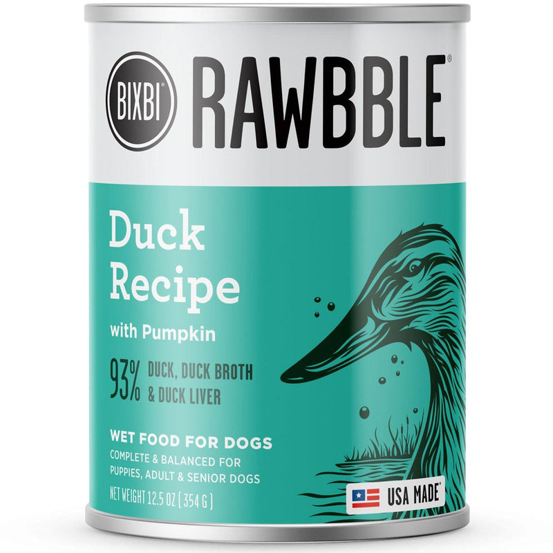 Bixbi Rawbble Duck Wet Dog Food