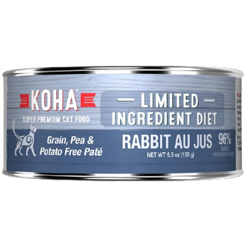 KOHA Limited Ingredient Diet Rabbit Pâté Grain-Free Canned Cat Food- 5.5 oz